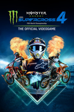Cover zu Monster Energy Supercross - The Official Videogame 4